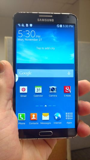 Samsung Galaxy Note 3 unlocked. for Sale in Takoma Park, MD