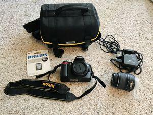 Nikon D3000 Camera Bundle! for Sale in San Antonio, TX