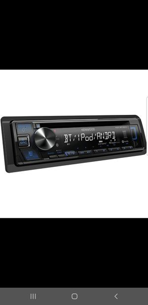 Kenwood car stereo Bluetooth USB aux for Sale in Chula Vista, CA