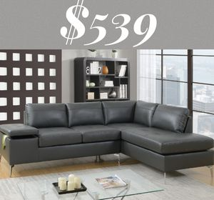 Modern sectional sofa grey with storage for Sale in Los Angeles, CA