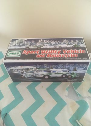 2004 Hess SUV and motorcycles. New in box. Never used for Sale in Larksville, PA
