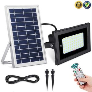 Solar Flood Lights Outdoor UPONUN Waterproof IP67 60LED Dusk to Dawn Solar Lights Outdoor Smart Remote Control for Sale in Ontario, CA