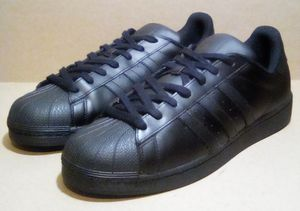 Core Black Adidas 'Superstar' Low-Top Sneakers for Sale in Fairfield, CA
