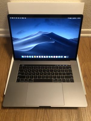 MacBook Pro 15 inch 2.9ghz i9 16GB 500GB SSD 2018 beast model with AppleCare warranty and paid programs. for Sale in Brea, CA