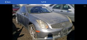 2005 infinity g35 for parts only call Turbo Team auto wrecking for your parts all cars all kinds for Sale in San Diego, CA