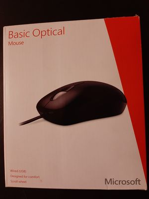 Microsoft Basic Optical mouse (wired) for Sale in Fullerton, CA