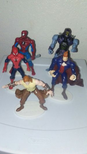 5 Action Figures $6 each lot 3 for Sale in San Jose, CA