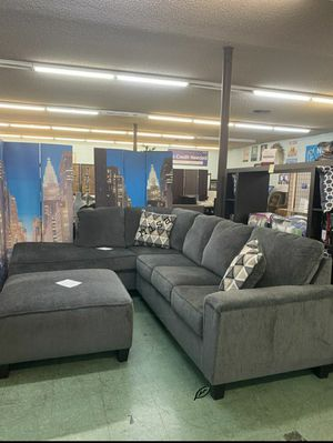 ➡️$39 Down 🍺No İNTEREST      SPECIAL] Dalhart Charcoal LAF / RAF Sectional 139 for Sale in Elkridge, MD