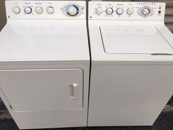GE Washer&dryer Combo