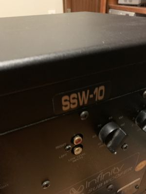 Infinity SSW-10 powered subwoofer for Sale in Walnut Creek, CA
