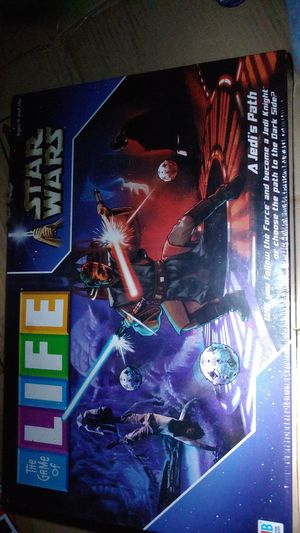The Game of Life Star Wars edition a Jedi's path Factory sealed never been opened for Sale in Lynnwood, WA