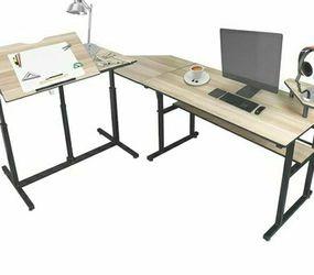 Manual Standing L Computer Desk for Sale in Ashburn,  VA