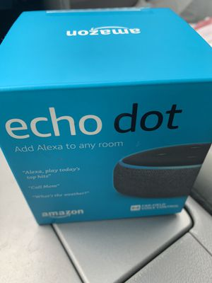 Echo Dot Gen 3 for Sale in Centreville, VA