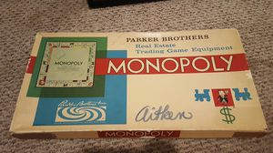 1960s monoply board game for Sale in Sterling, VA
