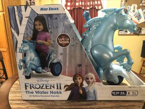 New Frozen 2 Water Nokk Ride on Toy 6 volt for Sale in Lumberton, TX