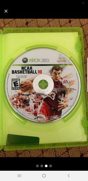 NCAA Basketball 10 + XBOX 360 Game Bundle for Sale in New Brunswick, NJ