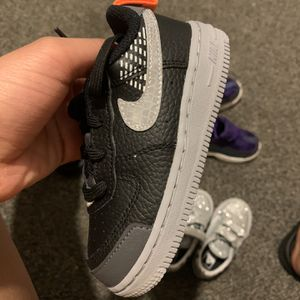Toddler Black, Grey & Orange Forces 8c for Sale in Seattle, WA