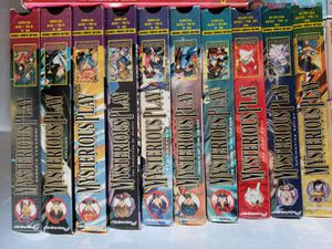 Japanese anime - Fushugii Yugi Mysterious Play 15 VHS tapes for Sale in Carol Stream, IL