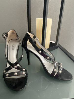 Black Guess Heels Size 8 1/2 for Sale in Tampa, FL