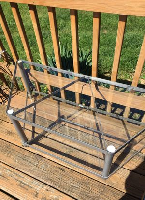 Glass TV stand for Sale in Vienna, VA