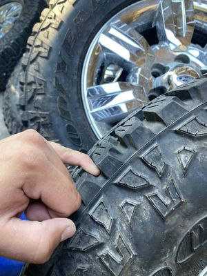 All terrain tires and rims for Sale in San Marcos, TX
