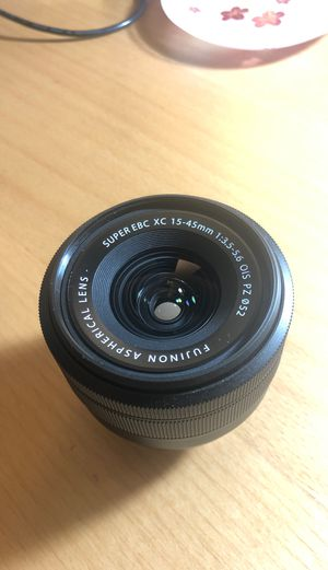 Fujinon XC 15-45mm F3.5-5.6 OIS PZ Lens - Black for Sale in Los Angeles, CA