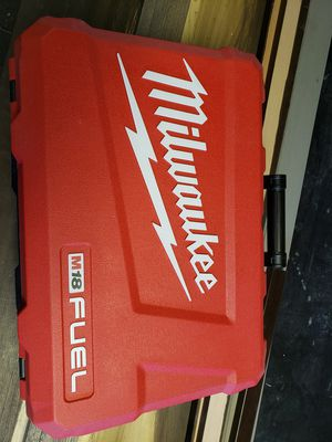Milwaukee 18v fuel case for impact and hammer drill case only for Sale in Riverview, FL