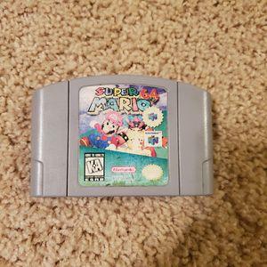 Super Mario 64 for Nintendo 64 for Sale in San Antonio, TX