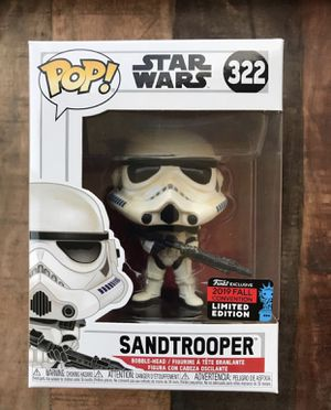 Sandtrooper 2019 Fall NYCC funko pop for Sale in Port St. Lucie, FL