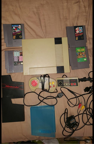 NES and accessories for Sale in Seattle, WA