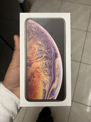 IPhone X's max 256 AT&T GOLD for Sale in Reedley, CA