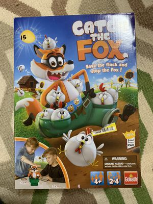 Game catch the fox for Sale in Douglasville, GA