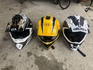 dirt bike helmets for Sale in Downey, CA