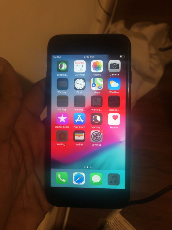 Carrier t mobile 128gb iPhone 7