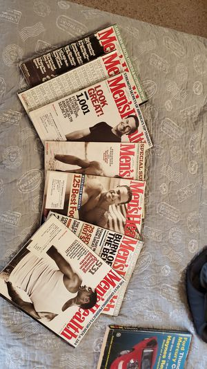 Mens health Collection for Sale in Riverside, CA