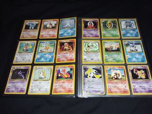 Pokemon cards base jungle fossil collection for Sale in Philadelphia, PA