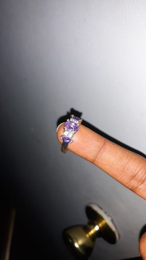 Amethyst Wedding Ring for Sale in Anderson, SC
