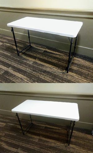 4' Heavy Duty Folding Table for Sale in Durham, NC