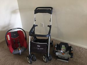 Chicco KeyFit 30 Travel System stroller and car seat and car base for Sale in Lexington, KY