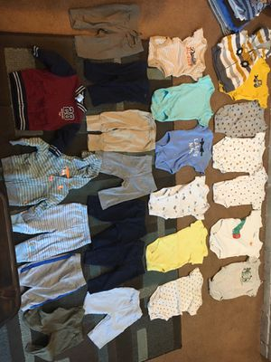 Kids clothes size 3 months onesies and pants for Sale in Westerville, OH