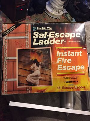 Sad Escape Ladder for Sale in Washington, DC