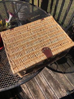 Picnic basket for Sale in Stockbridge, GA