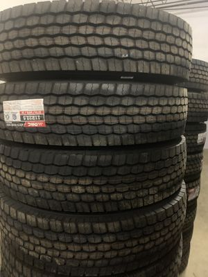 DRC 11r22.5 tractor trailer tires for Sale in Levittown, PA