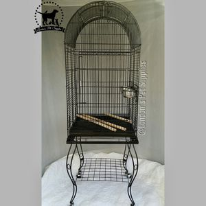 NEW!! Black Dome Top Bird Cage with Stand for Sale in Colton, CA