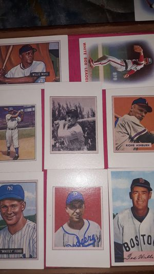 Rare 1985 baseball cards set of 8 cards for Sale in Wichita, KS