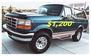 🎁1996 FORD BRONCO🎁($12OO)🎁Eddie Bauer 4x4🎁 for Sale in Chicago, IL