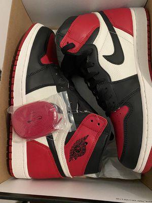 Jordan 1 Bred Toe for Sale in Los Angeles, CA