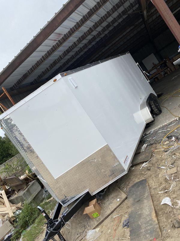8.5x16 Enclosed trailer!