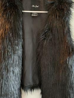 Black Fur Vest for Sale in Alexandria,  VA