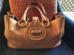 $2000 Prada Tan Leather Satchel Bag Handbag Purse for Sale in Alhambra, CA
